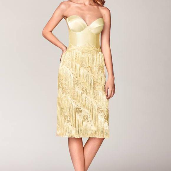 O'Blanc Yellow Dress